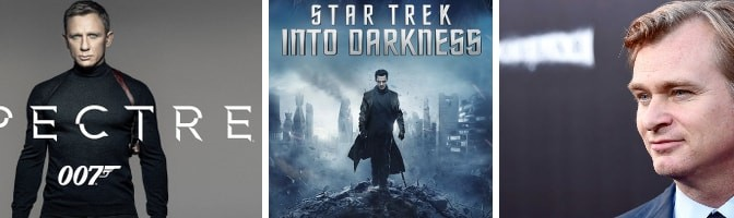 Spectre - Rewriting Star Trek Into Darkness - Christopher Nolan Film Scores
