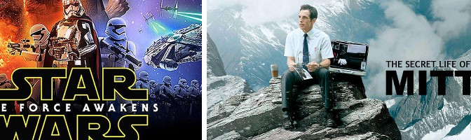 STAR WARS Special! Episode VII Hopes & Hype, and MOVIE COURT: The Secret Life of Walter Mitty