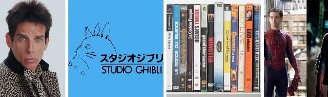 Studio Ghibli, Zoolander 2, Choosing Movies & Reboots