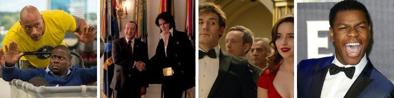 Central Intelligence, Elvis & Nixon, Me Before You, Guitar Soundtracks & Movie News: John Boyega & Joe Cornish
