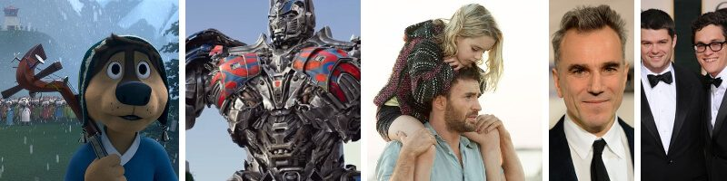 Transformers 5, Gifted, Rock Dog, Movie News: Daniel Day-Lewis & Han Solo Directors, The Sweetest Thing, Thor: The Dark World & Older People in Film