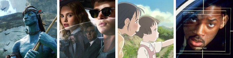Baby Driver, In This Corner of the World, Avatar, Enemy of the State & Picture Perfect: Lord of the Rings – Moria Staircase