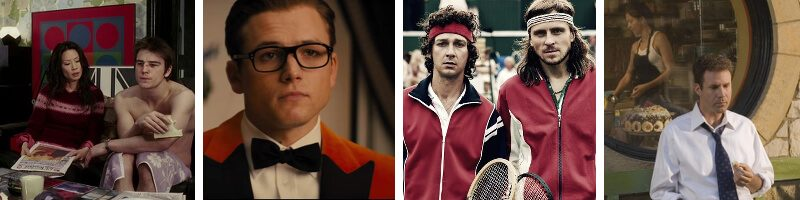 Borg McEnroe, Kingsman: The Golden Circle, Lucky Number Slevin, Stranger Than Fiction, Ultraviolet & Movie Theme Songs