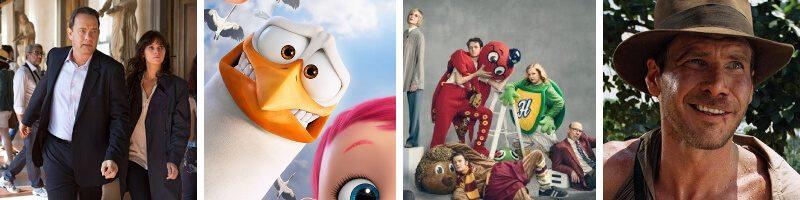 Inferno, Storks, Mascots & Movie Adventurers