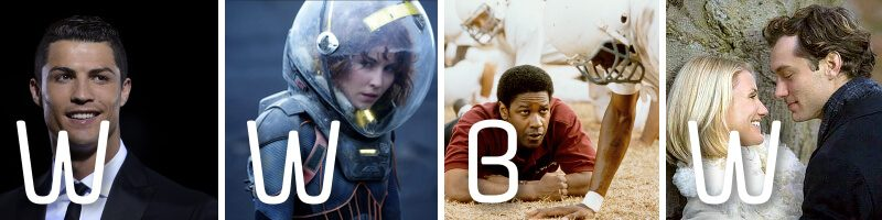 WWBW – Prometheus, The Holiday, Ronaldo & Remember the Titans