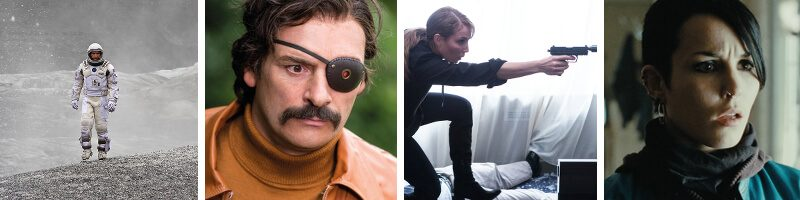 Mindhorn, Unlocked, Interstellar, The Girl With The Dragon Tattoo & Visionary Directors
