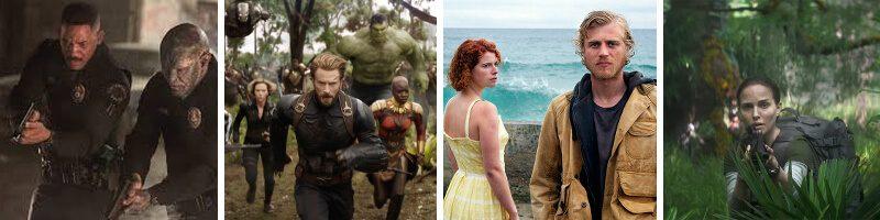 Avengers: Infinity War (no spoilers), Beast, Bright & Annihilation